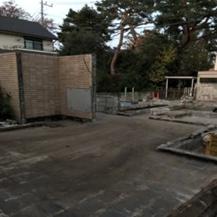 建屋施工後2